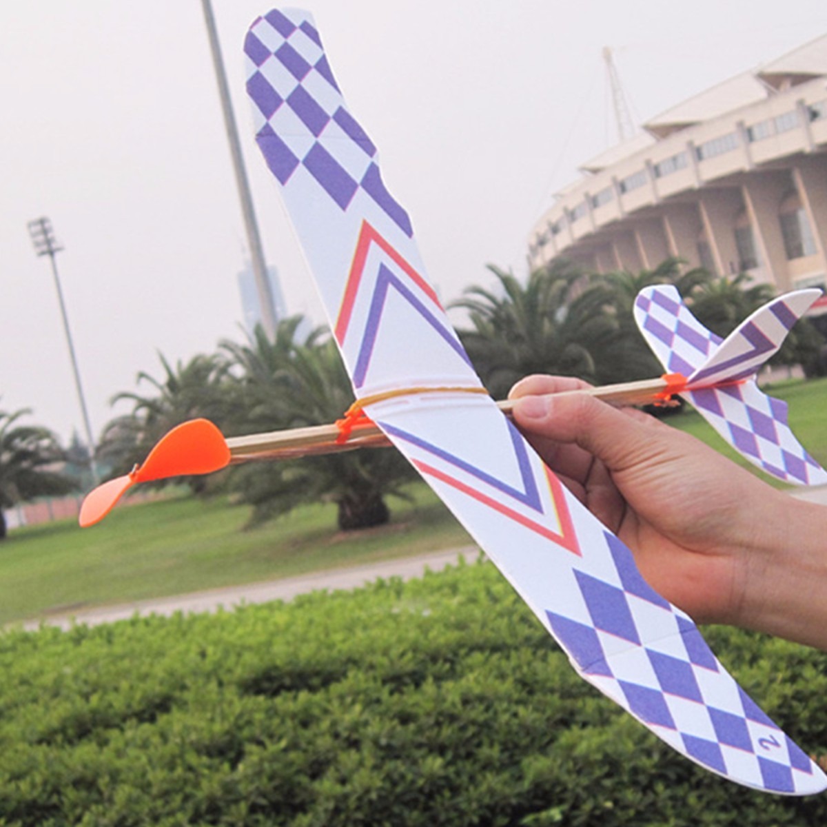 Best ideas about DIY Aircraft Kit . Save or Pin 5PCS DIY Foam Plane Elastic Rubber Band Powered Aircraft Now.