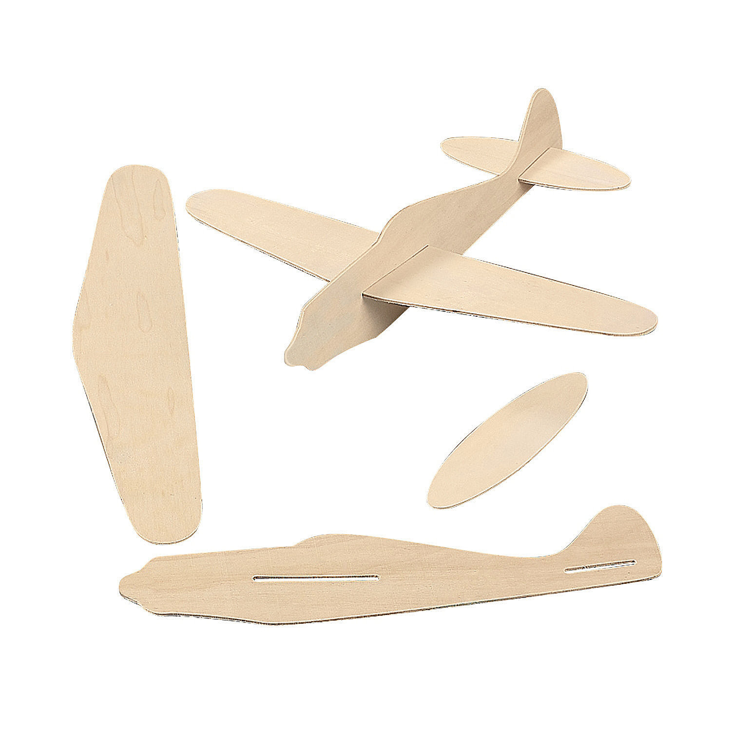 Best ideas about DIY Airplane Kits . Save or Pin DIY Wood Airplane Kits Oriental Trading Now.