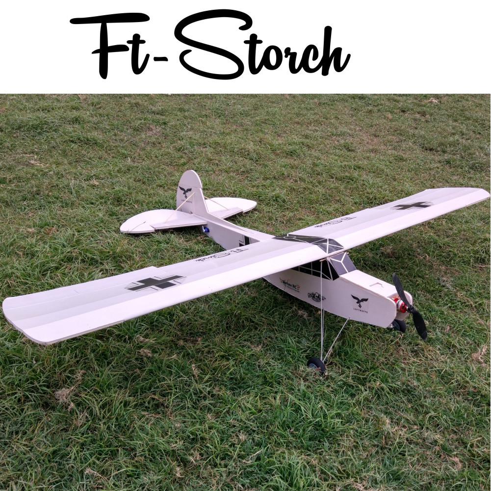 Best ideas about DIY Airplane Kits . Save or Pin FT Storch Laser Cut Foamboard Speed Build kit Vortex RC Now.
