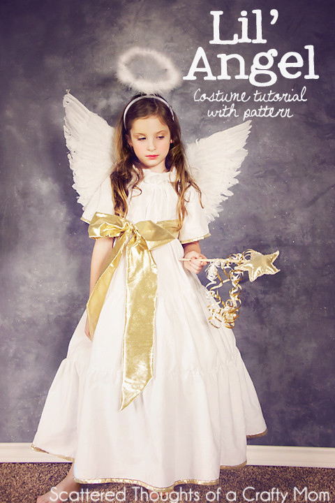 Best ideas about DIY Angel Costume . Save or Pin DIY Angel Costume plus tutorial and pattern Now.