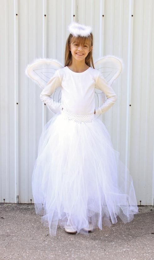 Best ideas about DIY Angel Costume . Save or Pin 7 SIMPLE DIY HALLOWEEN COSTUMES FOR YOUR NOT SO SPOOKY Now.