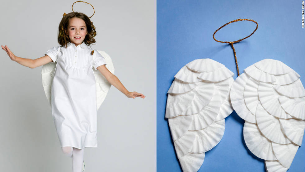 Best ideas about DIY Angel Costume . Save or Pin Easy DIY Halloween costumes CNN Now.