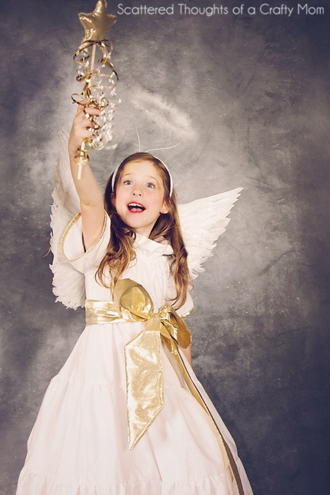 Best ideas about DIY Angel Costume . Save or Pin DIY Angel Costume plus tutorial and pattern Scattered Now.