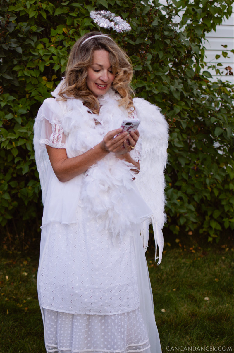 Best ideas about DIY Angel Costume . Save or Pin DIY Halloween Costume 6 – Angel Now.