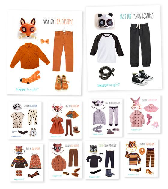 Best ideas about DIY Animal Costumes For Kids . Save or Pin Simple DIY ideas Easy fun dress up Animal costume ideas Now.