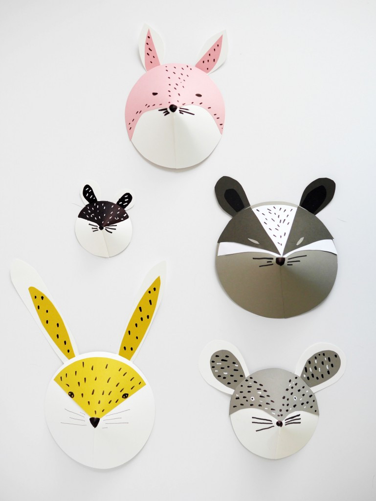 Best ideas about DIY Animal Mask . Save or Pin DIY Kids Summer Craft Colorful and Fun PAPER MASKS Now.