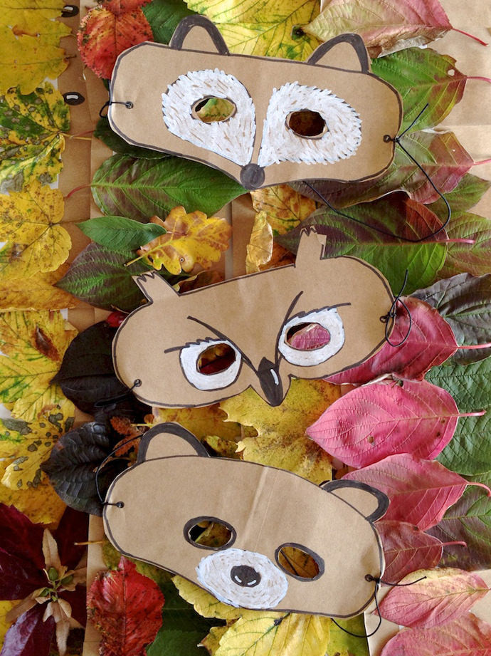 Best ideas about DIY Animal Mask . Save or Pin DIY Leaf Crowns and Animal Masks Now.