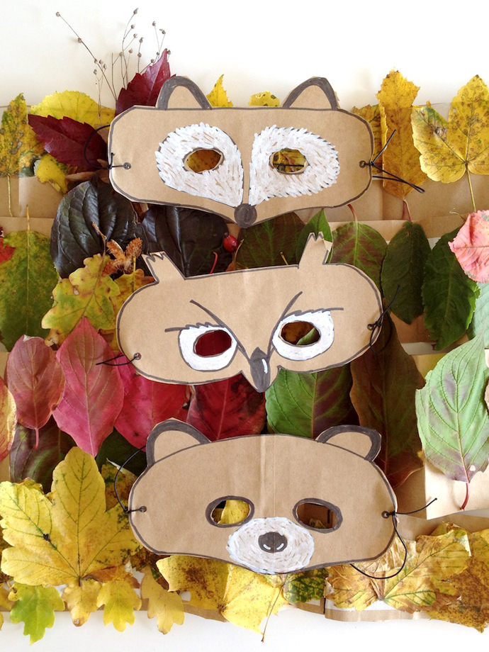 Best ideas about DIY Animal Mask . Save or Pin DIY Leaf Crowns and Animal Masks ⋆ Handmade Charlotte Now.