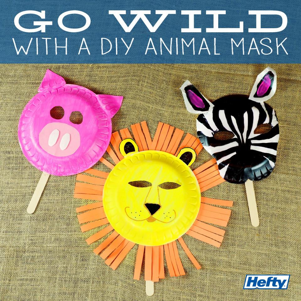 Best ideas about DIY Animal Mask . Save or Pin Kids DIY Animal Masks Now.