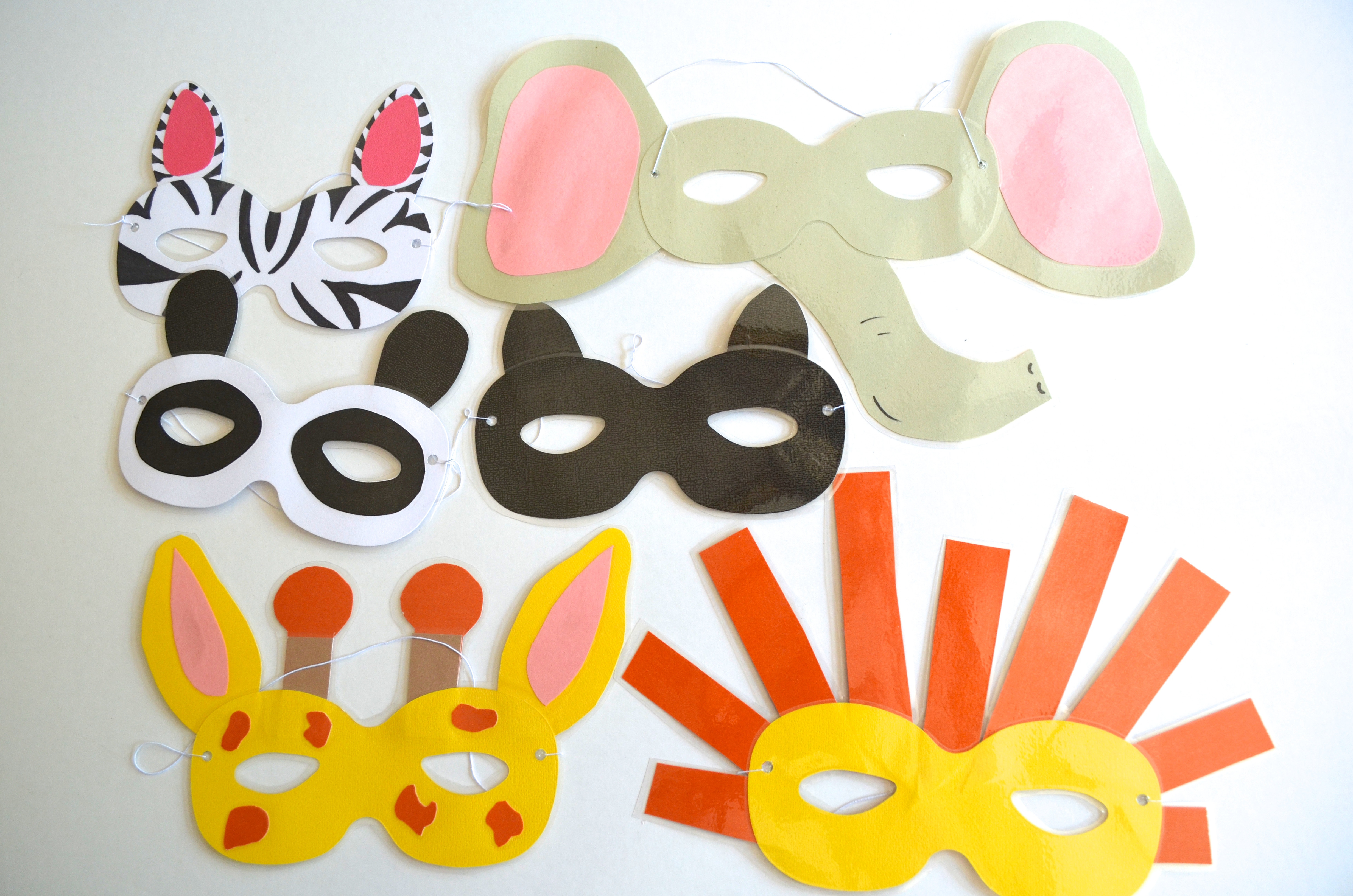 Best ideas about DIY Animal Mask . Save or Pin DIY Zoo Animal Masks Tutorial Now.