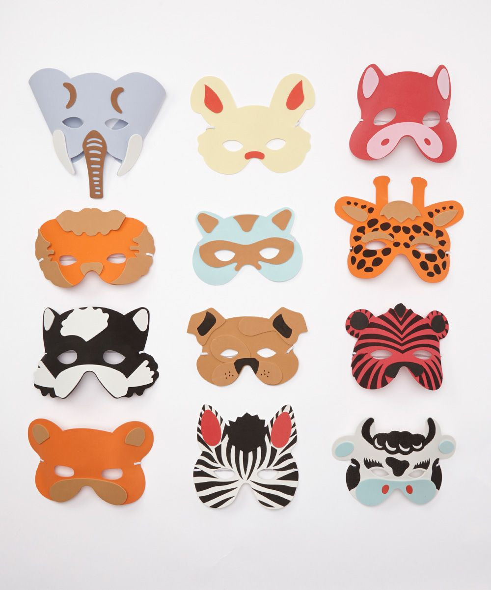 Best ideas about DIY Animal Mask . Save or Pin Animal Mask Set Kids Pinterest Now.