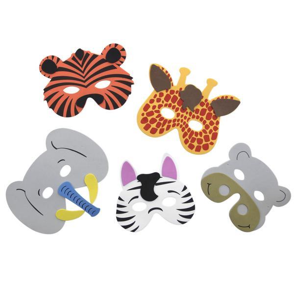 Best ideas about DIY Animal Mask . Save or Pin DIY Safari Animal Mask Kit Yoobi Now.