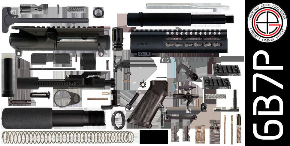 """Best ideas about DIY Ar 15 Kit . Save or Pin DIY 7 5"""" 300 Blackout AR 15 Pistol Project Kit with 7 Now."""