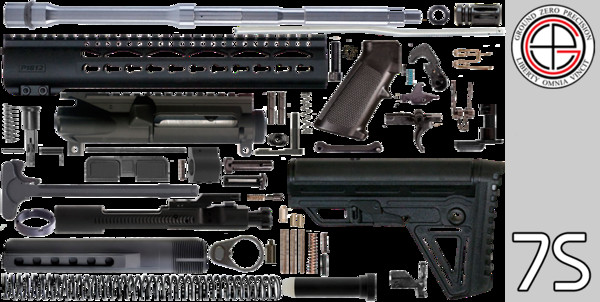 """Best ideas about DIY Ar 15 Kit . Save or Pin DIY 16"""" 223 5 56 AR15 Project Kit With KEYMOD Free Now."""