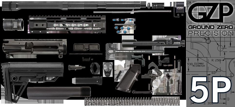"""Best ideas about DIY Ar 15 Kit . Save or Pin 16"""" 223 5 56 Wylde Carbine AR 15 Project Kit W 10"""" Tac Now."""