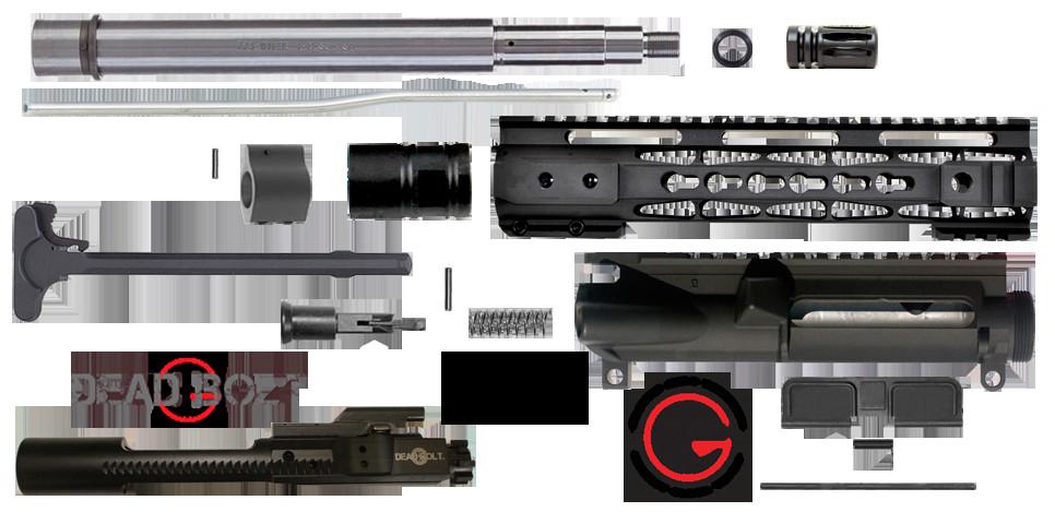 "Best ideas about DIY Ar 15 Kit . Save or Pin DIY 10 5"" 223 5 56 Upper Receiver w 10"" KEYMOD Rail Now."