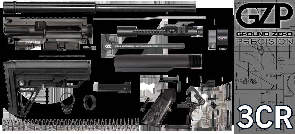 """Best ideas about DIY Ar 15 Kit . Save or Pin 16"""" 223 5 56 Wylde Carbine AR 15 Project Kit 3CR Now."""