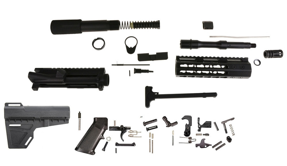 "Best ideas about DIY Ar 15 Kit . Save or Pin Davidson Defense DIY 5 56 Ar15 7 5"" Pistol Builder Kit Now."