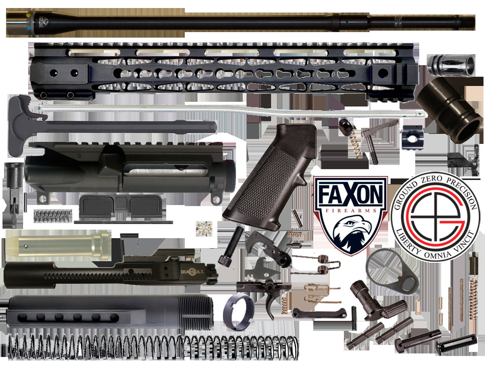 """Best ideas about DIY Ar 15 Kit . Save or Pin DIY 18"""" Mult Gun petition FAXON AR15 Rifle Project Kit Now."""