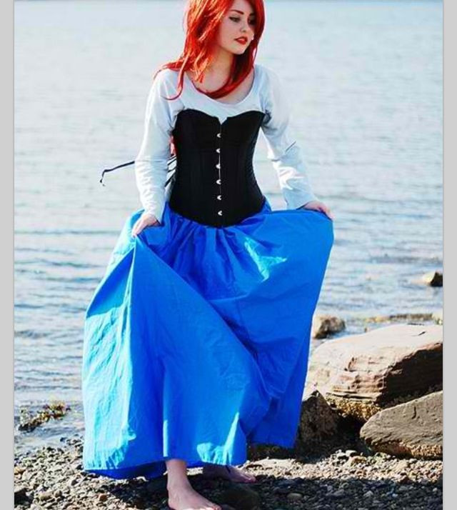 Best ideas about DIY Ariel Costume For Adults . Save or Pin diy ariel costume blue dress Google Search Now.