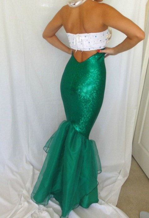 Best ideas about DIY Ariel Costume For Adults . Save or Pin 72 DIY Mermaid Ideas Mermaid Costumes Coloring pages Now.