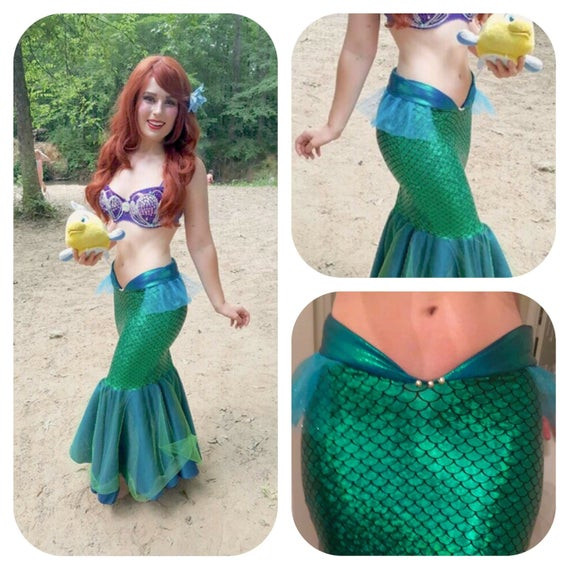 Best ideas about DIY Ariel Costume For Adults . Save or Pin SEA MELODY mermaid tail little mermaid tail costume Now.