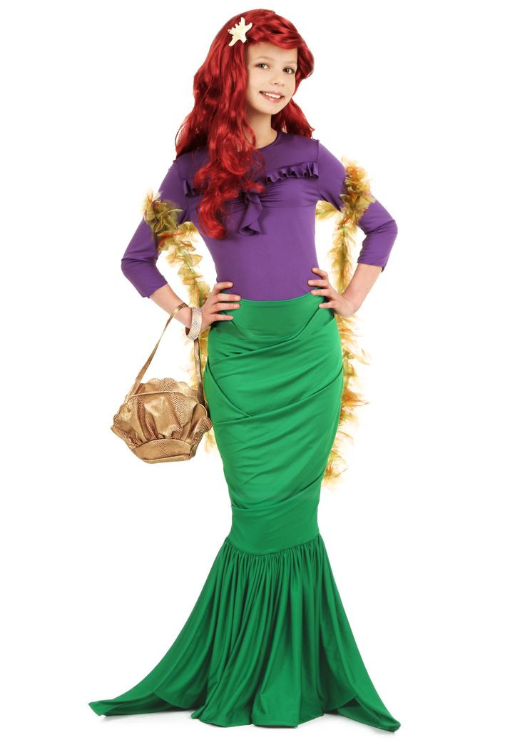 Best ideas about DIY Ariel Costume For Adults . Save or Pin 1000 ideas about Mermaid Costume Kids on Pinterest Now.