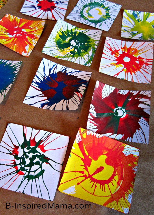 Best ideas about DIY Art And Craft For Kids . Save or Pin DIY Spin Art Bunting in Five Easy Steps Now.