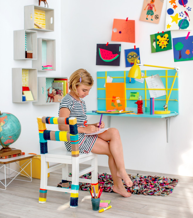 Best ideas about DIY Art And Craft For Kids . Save or Pin 10 DIY Kids' Desks For Art Craft And Studying Shelterness Now.
