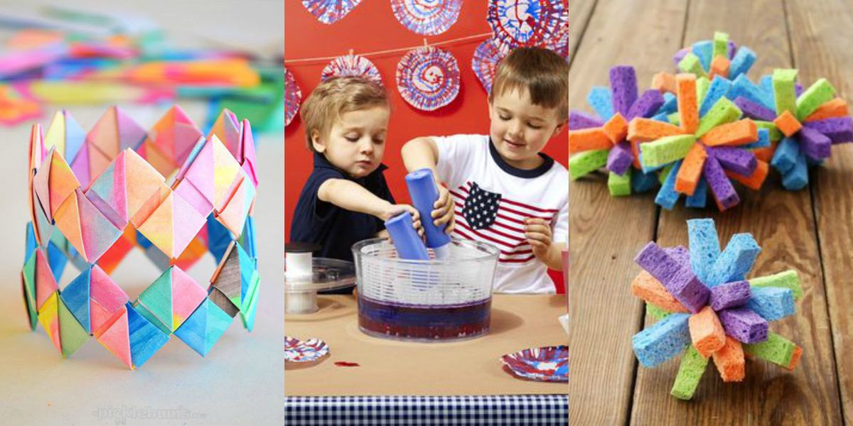 Best ideas about DIY Art And Craft For Kids . Save or Pin 40 Fun Activities to Do With Your Kids DIY Kids Crafts Now.