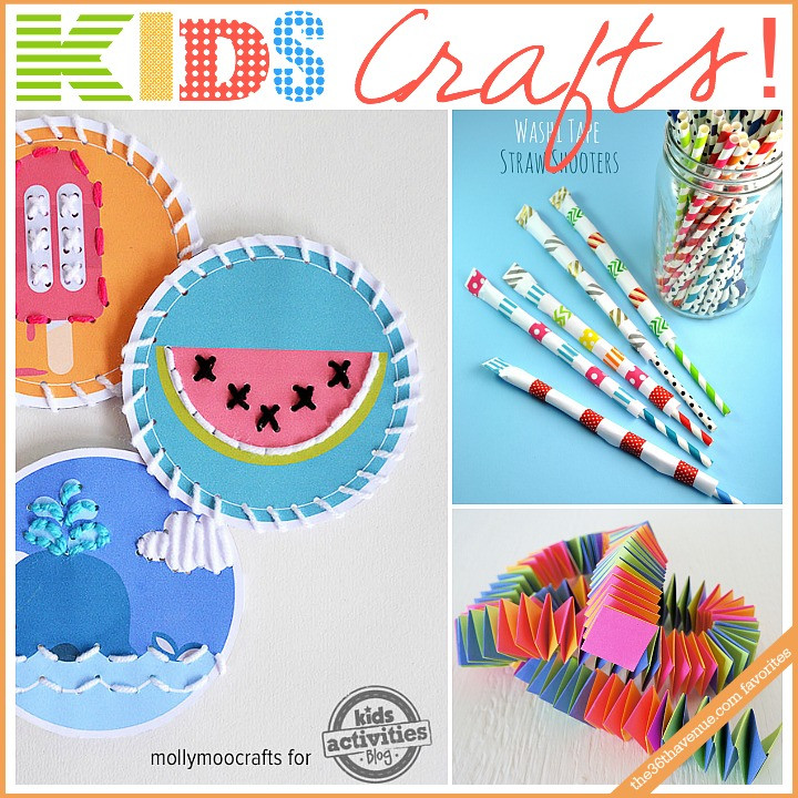 Best ideas about DIY Art And Craft For Kids . Save or Pin Kids Crafts and Activities The 36th AVENUE Now.