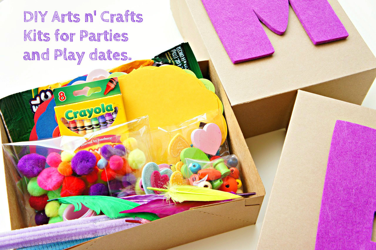 Best ideas about DIY Art And Craft For Kids . Save or Pin DIY Arts and Crafts Kits for Kids Bebe and Bear Now.