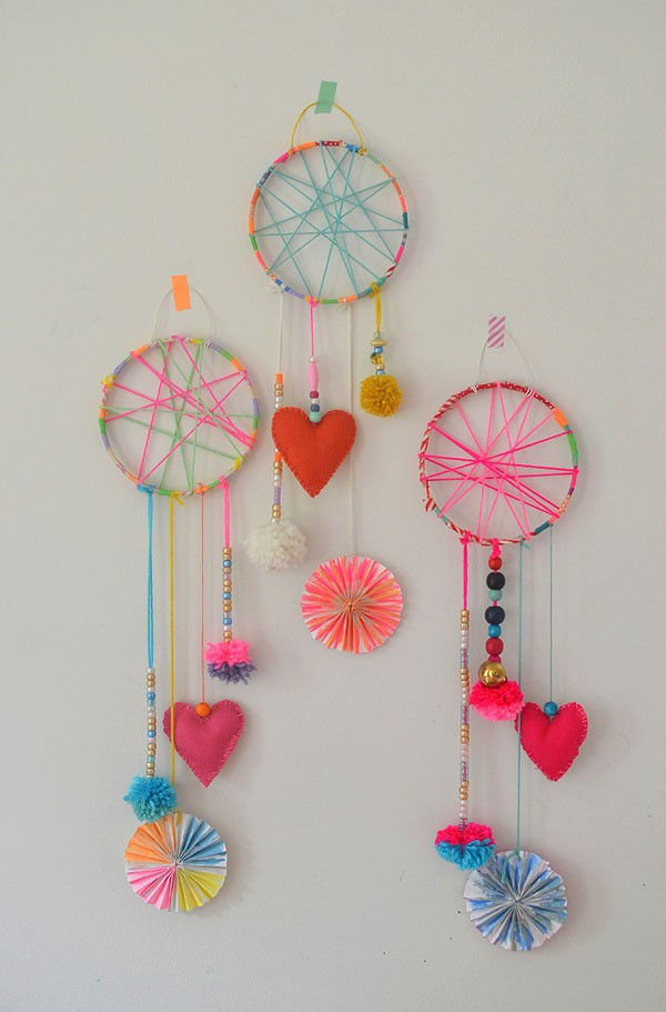 Best ideas about DIY Art And Craft For Kids . Save or Pin Amazing photographs of diy crafts of dream catcher Now.