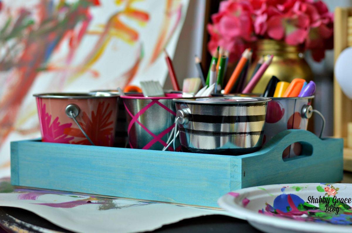 Best ideas about DIY Art Supply Organizer . Save or Pin Hometalk Now.