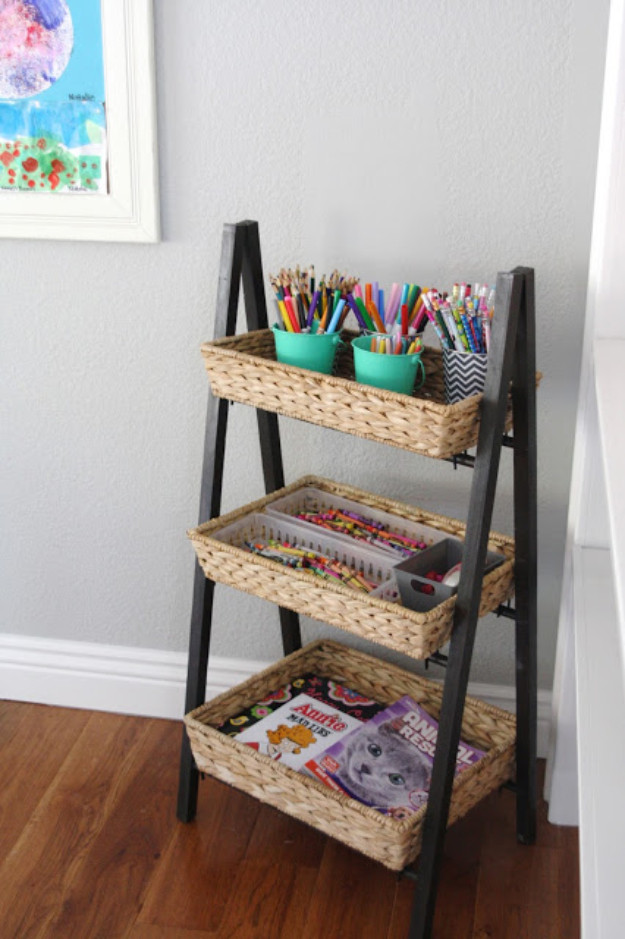 Best ideas about DIY Art Supply Organizer . Save or Pin 30 DIY Organizing Ideas for Kids Rooms Now.