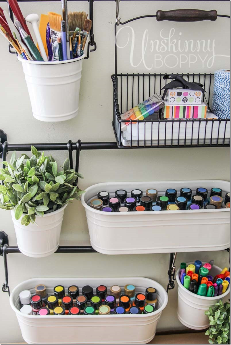 Best ideas about DIY Art Supply Organizer . Save or Pin Craft Room Organization and Storage Ideas The Idea Room Now.