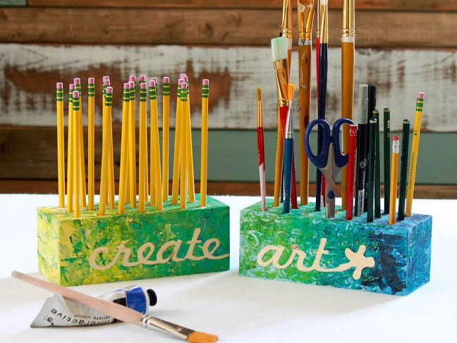 Best ideas about DIY Art Supply Organizer . Save or Pin Art Supply Organizer DIY Craft Now.