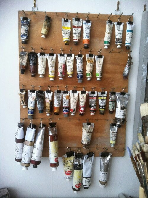 Best ideas about DIY Art Supply Organizer . Save or Pin Tuesday's Tips art supply storage ideas – Design Indulgences Now.