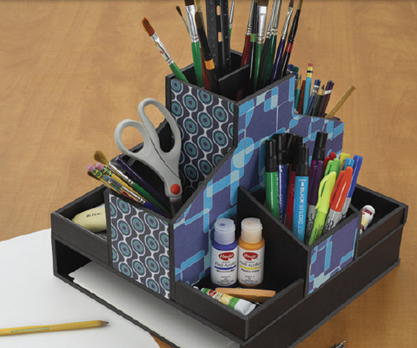 Best ideas about DIY Art Supply Organizer . Save or Pin DIY Foamboard Organizer Project Ideas BLICK art materials Now.