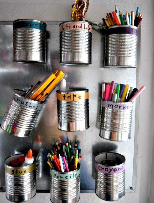Best ideas about DIY Art Supply Organizer . Save or Pin DIY Storage Ideas For Kids Room Crafts To Do With Kids Now.
