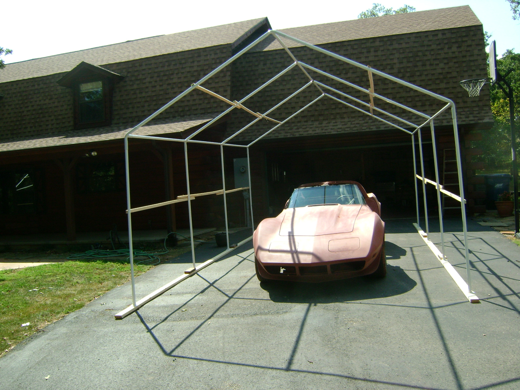 Best ideas about DIY Auto Paint Booth . Save or Pin My DIY paint booth CorvetteForum Chevrolet Corvette Now.