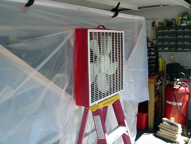 Best ideas about DIY Auto Paint Booth . Save or Pin Create a Paint Booth in Your Garage Now.