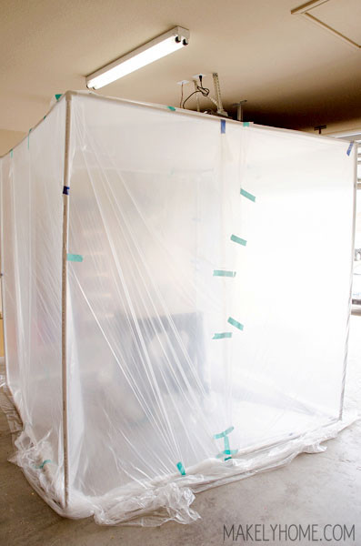 Best ideas about DIY Auto Paint Booth . Save or Pin $50 DIY Collapsible Spray Paint Tent Now.