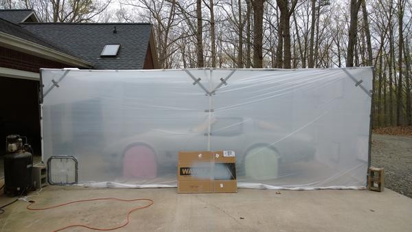 Best ideas about DIY Auto Paint Booth . Save or Pin DIY Paint Booth Spitfire & GT6 Forum Triumph Now.