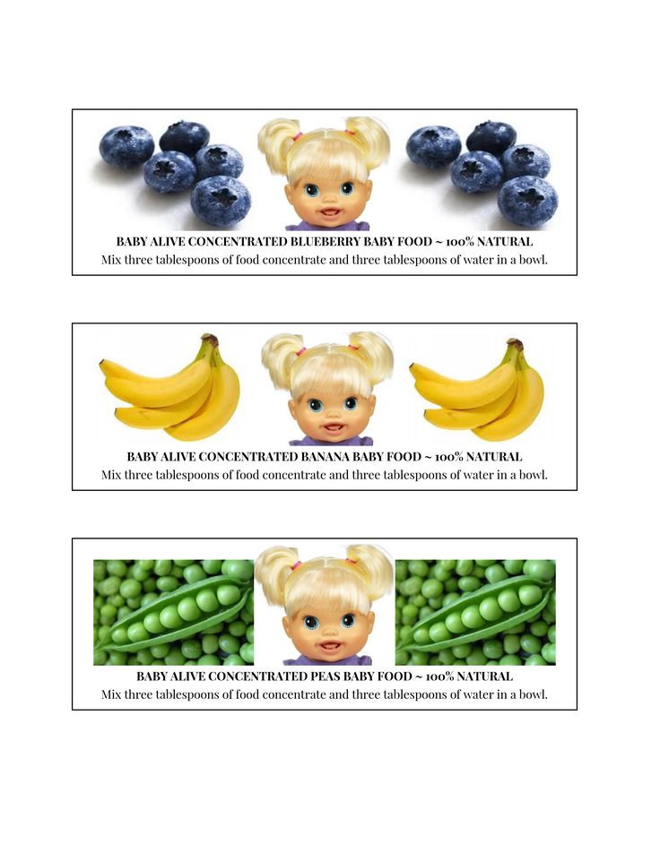 Best ideas about DIY Baby Alive Food . Save or Pin 25 best baby alive images on Pinterest Now.