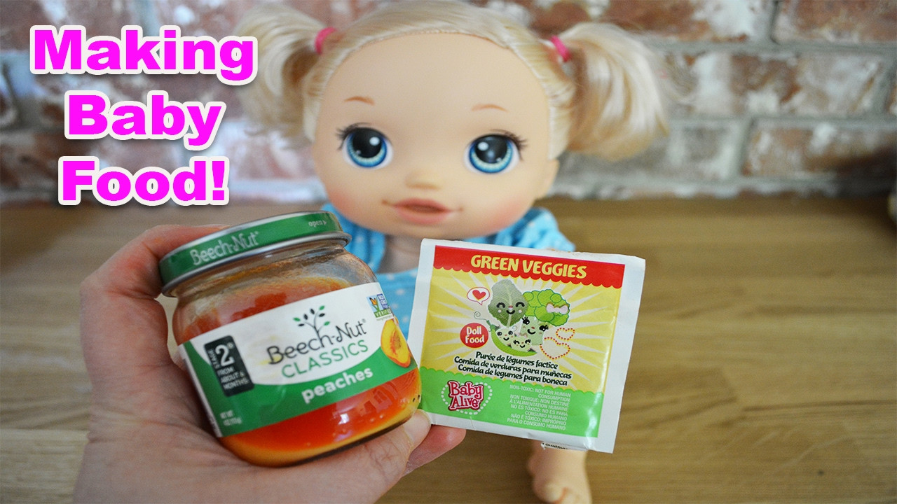 Best ideas about DIY Baby Alive Food . Save or Pin How To Make Baby Alive Food EASY DIY Now.