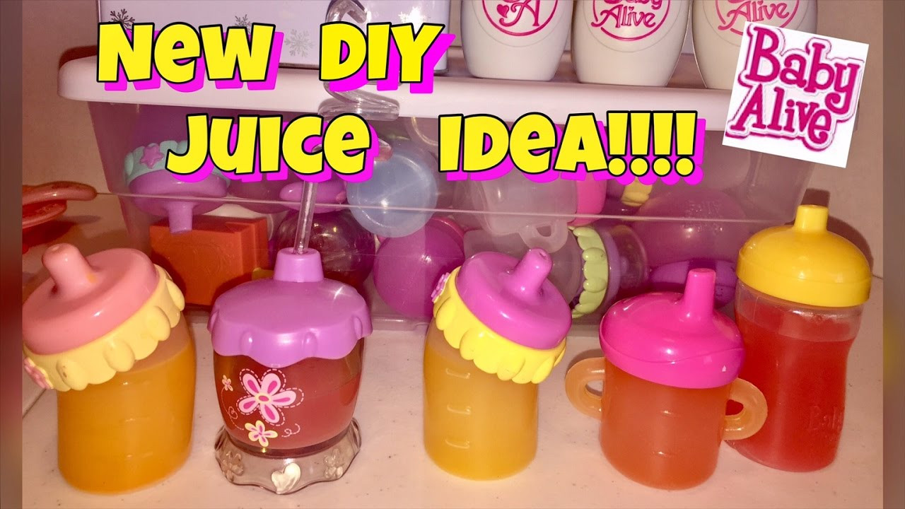Best ideas about DIY Baby Alive Food . Save or Pin DIY Baby Alive JUICE ALTERNATIVE without using markers Now.