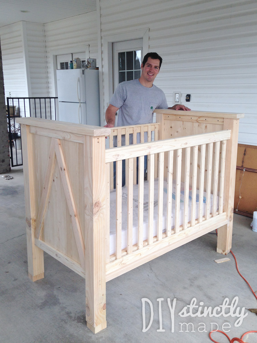 Best ideas about DIY Baby Bed . Save or Pin DIY Crib – DIYstinctly Made Now.