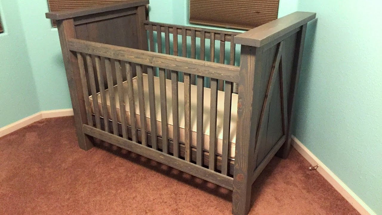 Best ideas about DIY Baby Bed . Save or Pin DIY Custom Baby Crib Build Now.