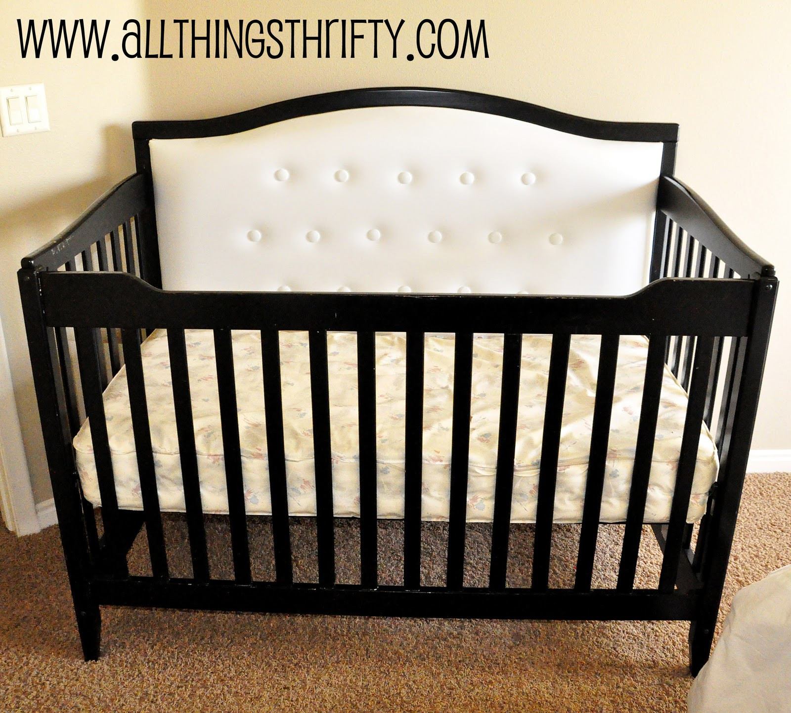 Best ideas about DIY Baby Bed . Save or Pin Nursery Decorating Ideas Part 3 Change your Crib for CHEAP Now.